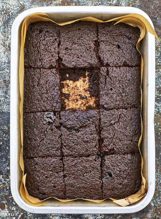 Meera Sodha's Salted Miso Brownies