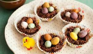 Easy Easter Nests Recipe by GBBO contestant Miranda Gore
