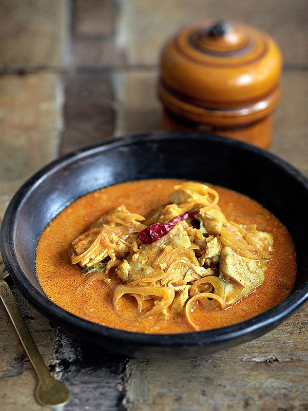 Madhur Jaffrey easy fish curry