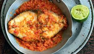 Masala Fish Steaks