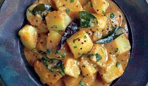 South Indian Potato Curry