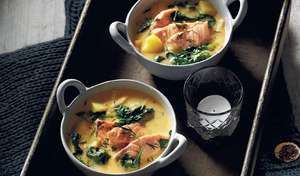 Salmon, Potato and Dill Soup | Comforting Soup Recipes