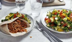 Eat Well For Less Slow Cooked Pulled Pork with Salad Recipe