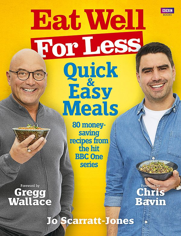 best family cookbooks Eat well for less gregg wallace chris bavin