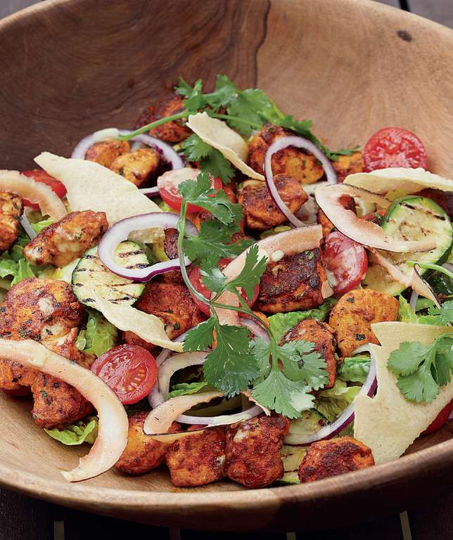 Spicy Chicken Bhuna Salad
