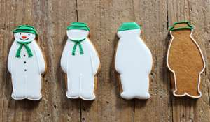 Christmas Snowman Biscuits Recipe | The Snowman by Raymond Briggs
