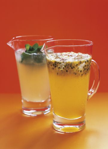 Nigella Lawson's Elderflower and Passionfruit Cooler