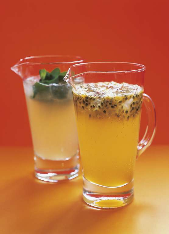 Elderflower and Passionfruit Cooler