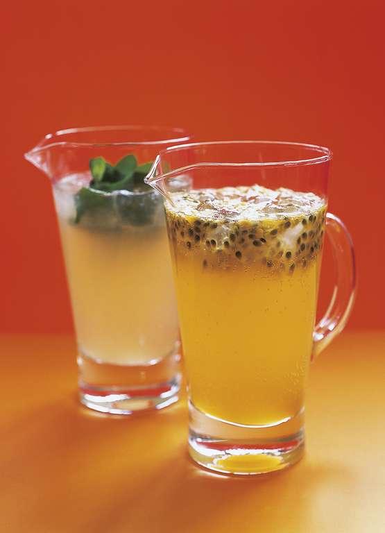 Elderflower and Passionfruit Cooler