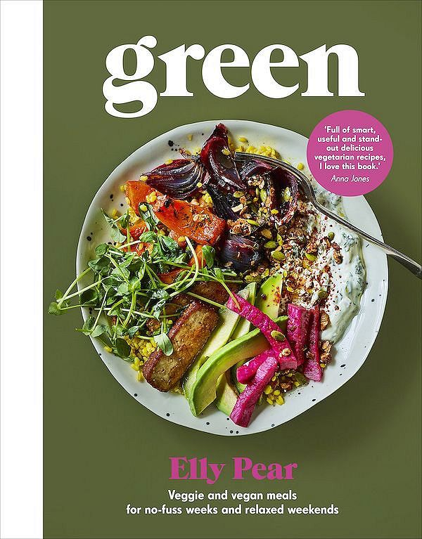 elly pear green plant-based cookbook