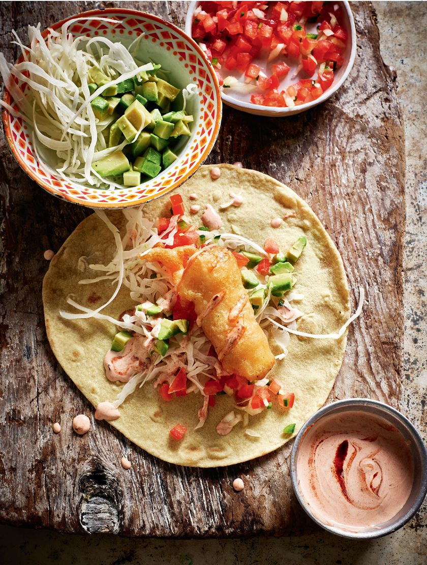 Rick Stein's Best Recipes - Fish Tacos