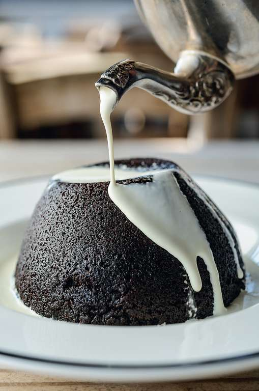 Milk Stout and Chocolate Steamed Pudding