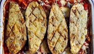 Aubergine Chilli Traybake Recipe | Eat Well for Less