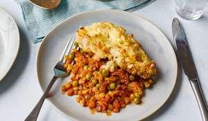 Vegetarian Lentil Pie Recipe | BBC Eat Well For Less