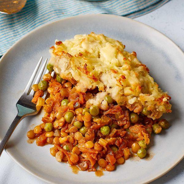 Lentil Cumberland Pie