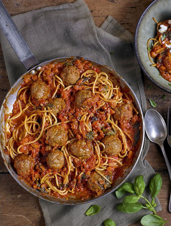 meatballs and pasta recipe