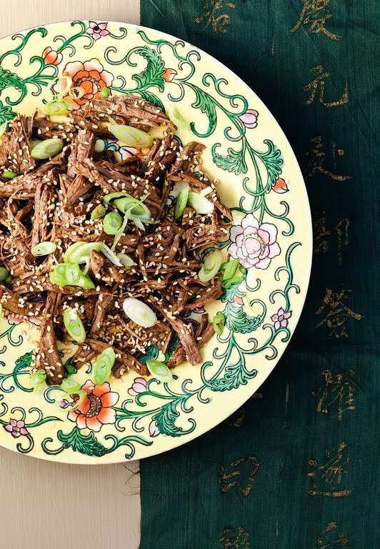 Braised Beef Shank in Sichuan Dressing