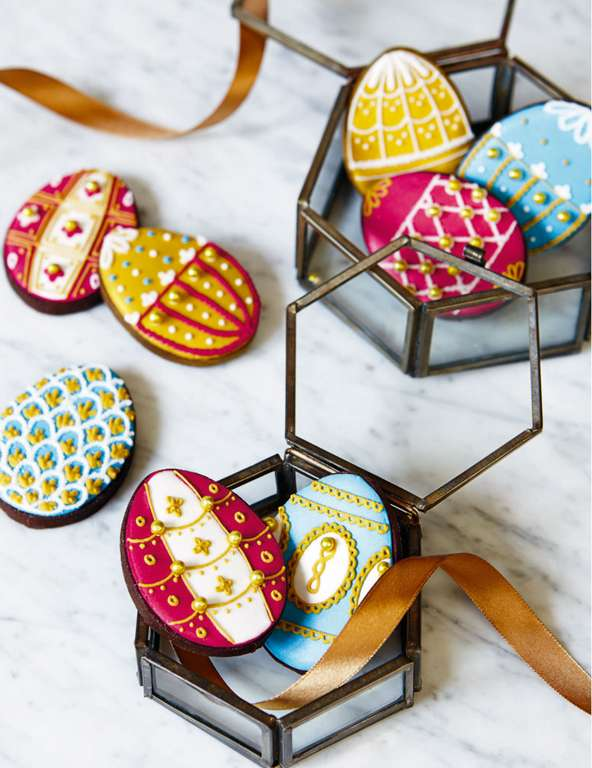 Biscuiteers Fabergé Easter Eggs