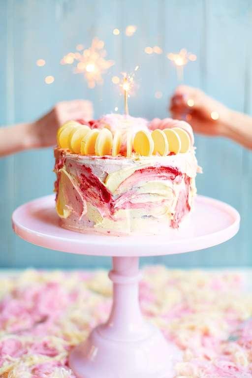 Fairy Floss Cake