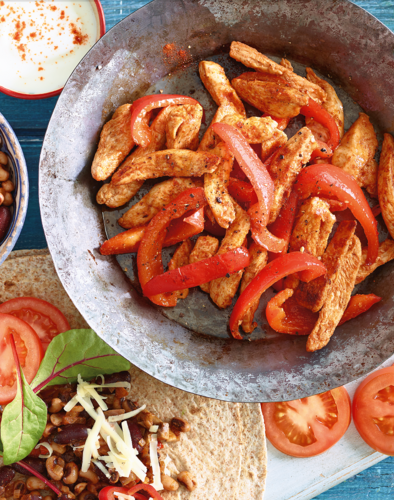 Chicken Fajitas from Eat Well For Less