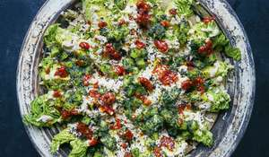 Palestinian Burnt Aubergine Salad | Falastin Sami Tamimi
