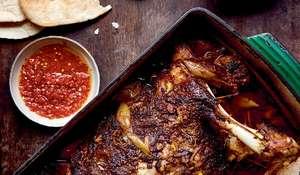 Pulled Lamb Shawarma Sandwich | Middle Eastern Recipe