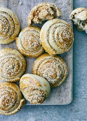 Sami Tamimi Sweet Tahini Rolls | Authentic Palestinian Bake