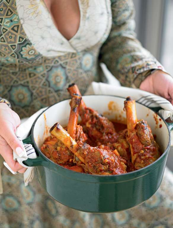 Leave-in-the-oven Lamb Shanks