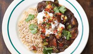 Smoky Veggie Feijoada Black Beans, Squash, Peppers & Okra Jamie Oliver Everyday Super Food