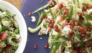 Ottolenghi's Fennel and Feta Salad with Pomegranate