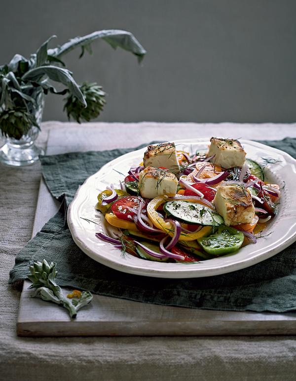 feta recipes greek feta salad rachel de thample