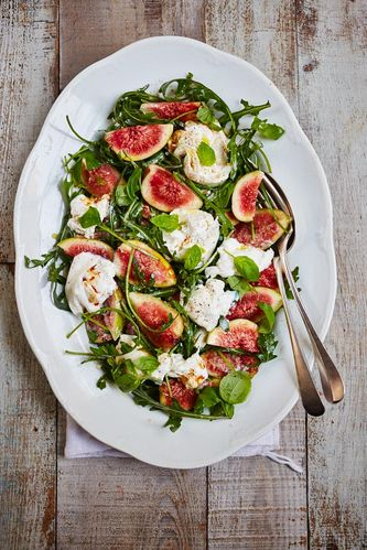 Fig Salad from Eat Beautiful by Wendy Rowe