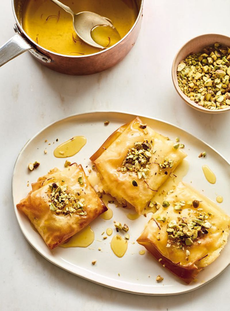 10 of best nadiya hussain desserts filo cream pastries nadiya bakes
