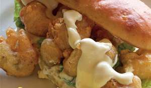 Battered Oyster Roll