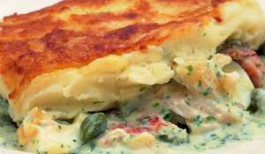 Luxury Smoked-Fish Pie
