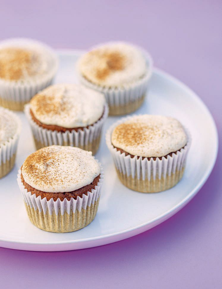The Fitness Chef Vanilla Carrot Cupcakes