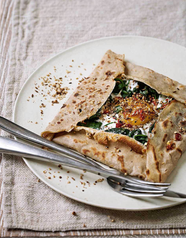 Turkish Spinach Galette
