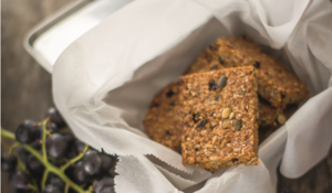Honey and Seed Flapjacks