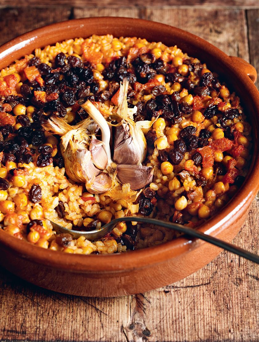 Easy Rice Store Cupboard Recipes | Claudia Roden Spanish Rice