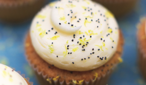 Lemon & Poppy Seed Cupcakes from Jamie Oliver's Food Tube The Cake Book