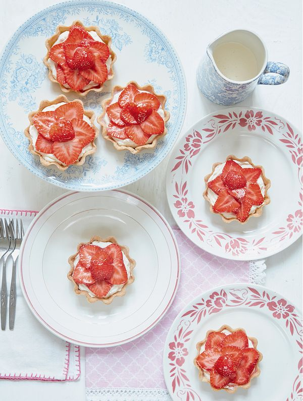 berry dessert alternative strawberries and cream mary berry strawberry tartlets mary berry everyday