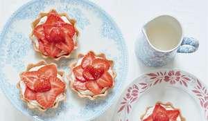 Fresh Strawberry Tartlet Recipe   Mary Berry Summer Dessert for 2020