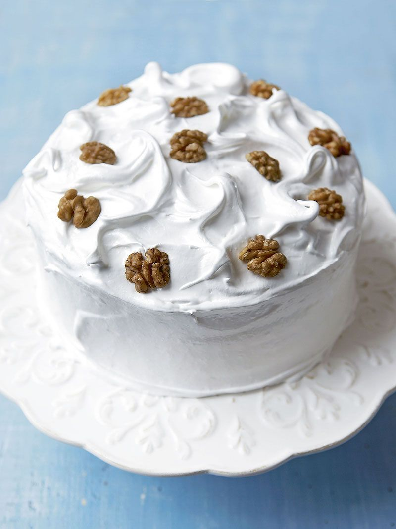 10 recipes you'll love in Mary Berry's Baking Bible Frosted Walnut Layer Cake