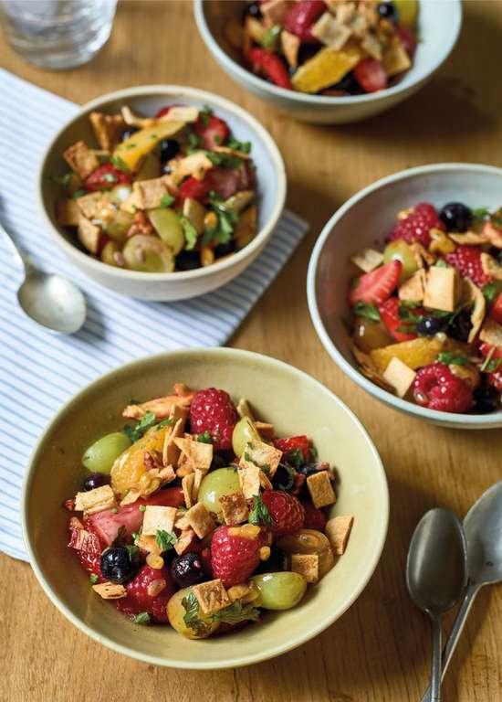 Nadiya Hussain's Fruit Salad Fattoush