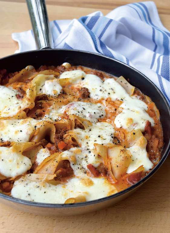 Frying-pan Lasagne