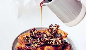 French Toast with Candied Bacon | Gail's