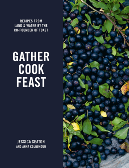 Cover of Gather Cook Feast: Recipes from Land and Water by the Co-Founder of Toast