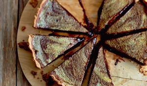 Mary's Chocolate Orange Tart