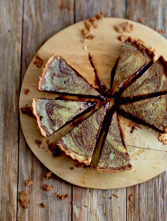 Mary's Chocolate Orange Tart
