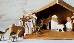 Homemade Gingerbread Nativity Scene Recipe for Christmas